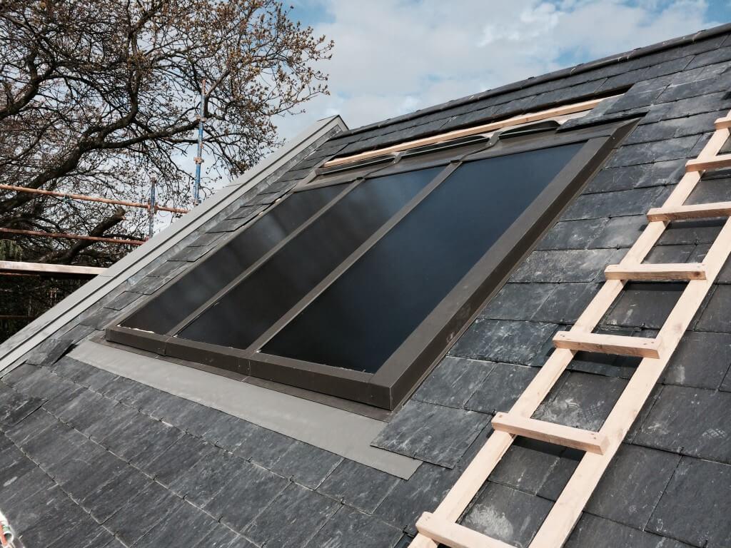 making progress solar panels Ludford Grove
