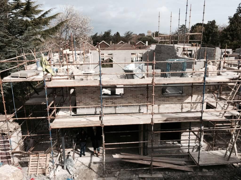 making progress on houses 2 & 3